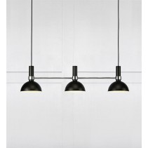 106855 Larry pendant 3l black/brass Markslojd