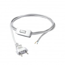 8612 Cameleon Cable With Switch WH Przewód Nowodvorski Lighting